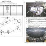instrukcja - osłona silnika dolna acura-rdx-2006-2011b