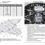 instrukcja montazu osłona silnika Audi 1.0124.00