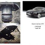 Instrukcja montazu osłona silnika Audi 1.0526.00