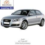 osłona silnika Audi A3 8P 2004-2012