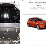 osłona silnika Ford Fiesta 2012 1.0465.00