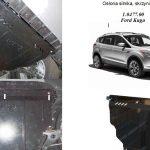 instrukcja montazu osłona silnika Ford Kuga 2013 1.0477.00