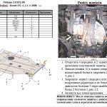 instrukcja montazu osłona silnika Suzuki SX-4 2006