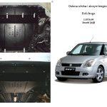 instrukcja montazu osłona silnika Suzuki Swift V 2011
