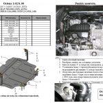 instrukcja montazu oslona silnika Skoda Superb 1.0231.00