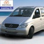 Osłona silnika dolna Mercedes-Benz Vito D (W 639) 2004