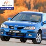 Osłona silnika dolna Nissan Almera II 2000