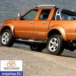 Osłona silnika dolna Nissan Navara III 2005