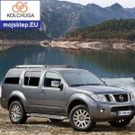 Osłona silnika dolna Nissan Pathfinder IV 2012