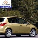 Osłona silnika dolna Nissan Tiida (Versa) 2004