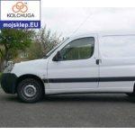 Osłona silnika dolna Peugeot Partner Origin 2008