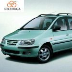 Osłona silnika dolna Hyundai Matrix 2001
