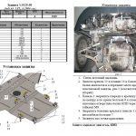 Instrukcja montazu osłona silnika Audi 1.0125.00