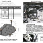 Instrukcja montazu osłona silnika Audi 1.0231.00