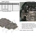 Instrukcja montazu osłona silnika Audi 1.0406.00