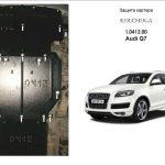 Instrukcja montazu osłona silnika Audi 1.0412.00