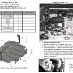 instrukcja montazu oslona silnika Skoda Octavia 2004